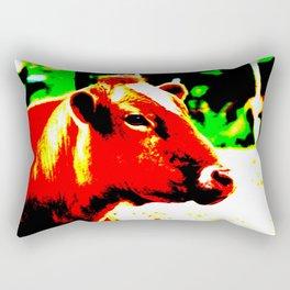 Abstract Cow Rectangular Pillow