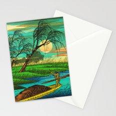 Seba Ohta River Japan Ukiyo e Art Stationery Cards