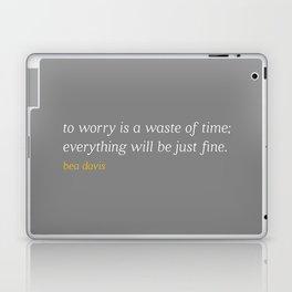 Bea Davis—Grey Laptop & iPad Skin
