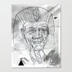 Faraon Canvas Print