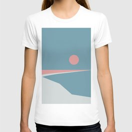Sunset at Newton T-shirt