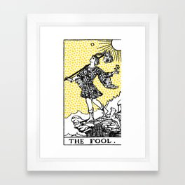 Tarot - The Fool Framed Art Print