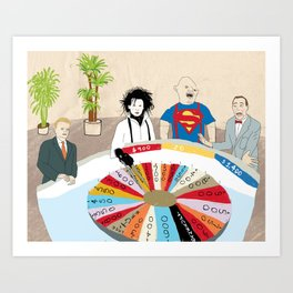 Wheel of Fortune Art Print