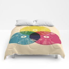 Music is the colors of life Comforters