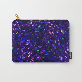 Fascination in blue- photograph of colorful lights Carry-All Pouch