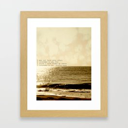 Where are you going Framed Art Print