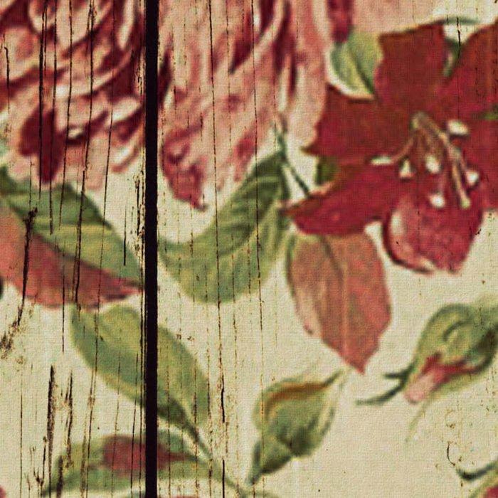 Flowers on Wood 07 Leggings