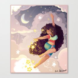Dancing Through The Stars Canvas Print