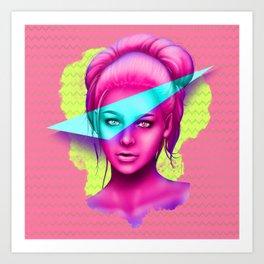 Colour Pop Art Print