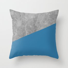 Geometry 101 Saltwater Taffy Teal Throw Pillow
