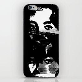 Static Liz Taylor iPhone Skin
