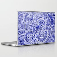 navy Laptop & iPad Skins featuring Navy by Samantha Jeffrey