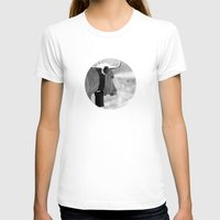 cow T-shirts featuring Cow by Crazy Thoom