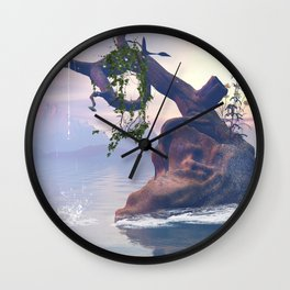 Old tree Wall Clock