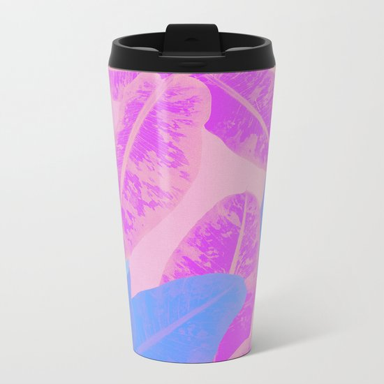 Banana multi Metal Travel Mug