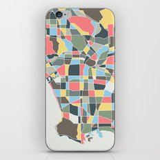 Los Angels Map iPhone & iPod Skin