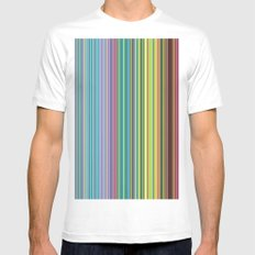 STRIPES23 Mens Fitted Tee White MEDIUM