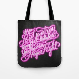 Daft Punk - Doin' It Right - Lettering Tote Bag