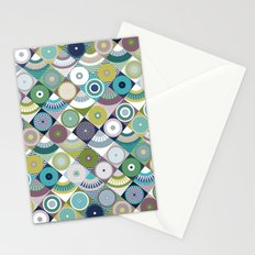 scales and pearls Stationery Cards