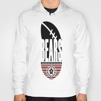 bears Hoodies featuring BEARS  by Robleedesigns