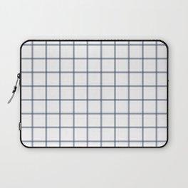 Windowpane\\Navy Laptop Sleeve