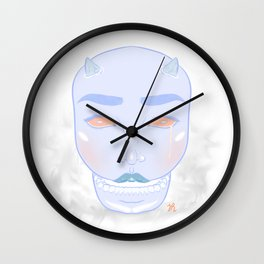 Fear These Tears Wall Clock