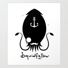 Squidfellow Logo Art Print