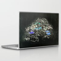 cars Laptop & iPad Skins featuring Cars by Alyssa Dennis