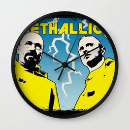 MethallicA ( Breaking Bad ) Wall Clock