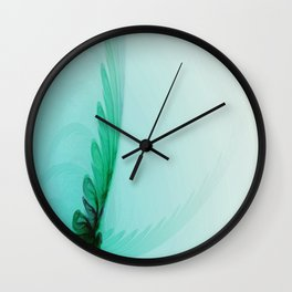With Brave Wings She Flies Wall Clock