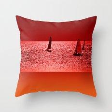 Autumn Ocean 2 Throw Pillow