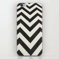 minimalist iPhone & iPod Skins featuring Twin Peaks Minimalist Poster by Kristjan Lyngmo