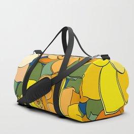 Succulent Frenzy Duffle Bag