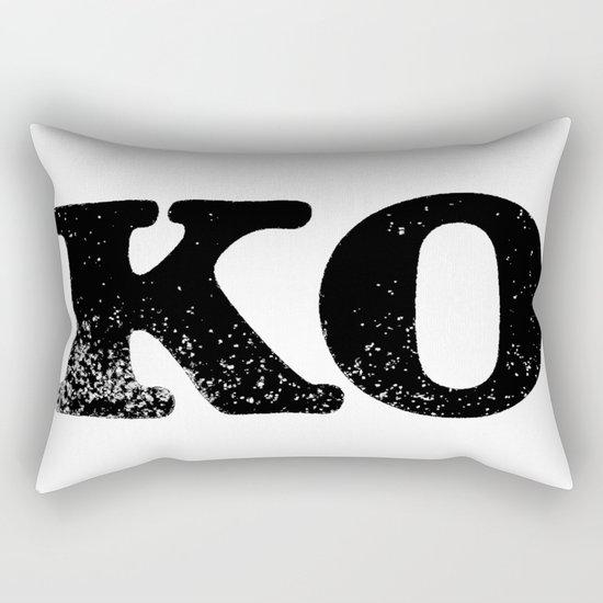 KO Rectangular Pillow