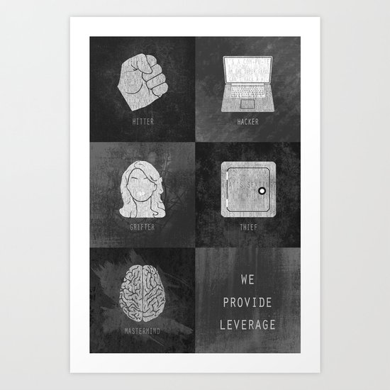 We Provide Leverage Art Print