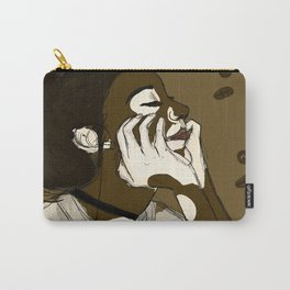 Coffee and Cream Carry-All Pouch