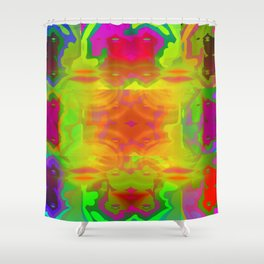 Colorful fitting ... Shower Curtain