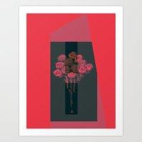 NocturnalValentineI Art Print