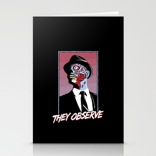 They Observe Stationery Cards
