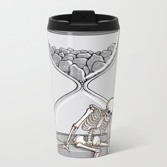 Please wait Metal Travel Mug