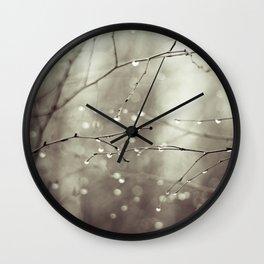 Colorless Wall Clock