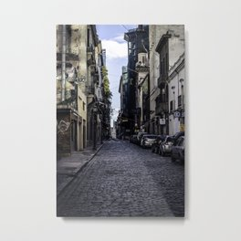 The empty streets of the new world Metal Print