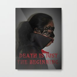 Death is Just the Beginning. Asian, Vampire Girl, Cosplay Metal Print