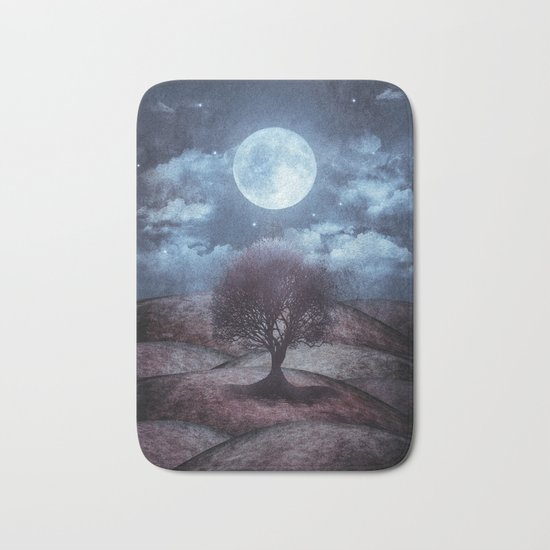Once upon a time... The lone tree. Bath Mat