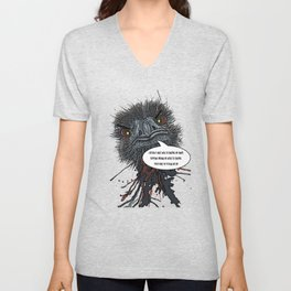 Ollie - I don't need to control my anger Unisex V-Neck
