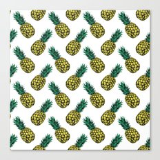 Neo-Pineapple - Pineapple Canvas Print