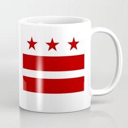 Washington DC District Of Columbia Flag Coffee Mug