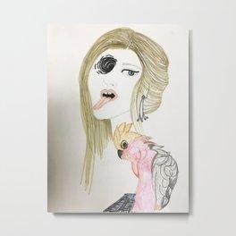 Rosie Baby Metal Print