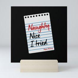 Naughty Nice - Gift Mini Art Print