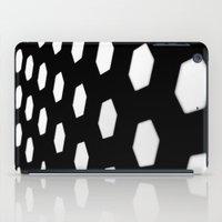 hexagon iPad Cases featuring hexagon. by JulleK